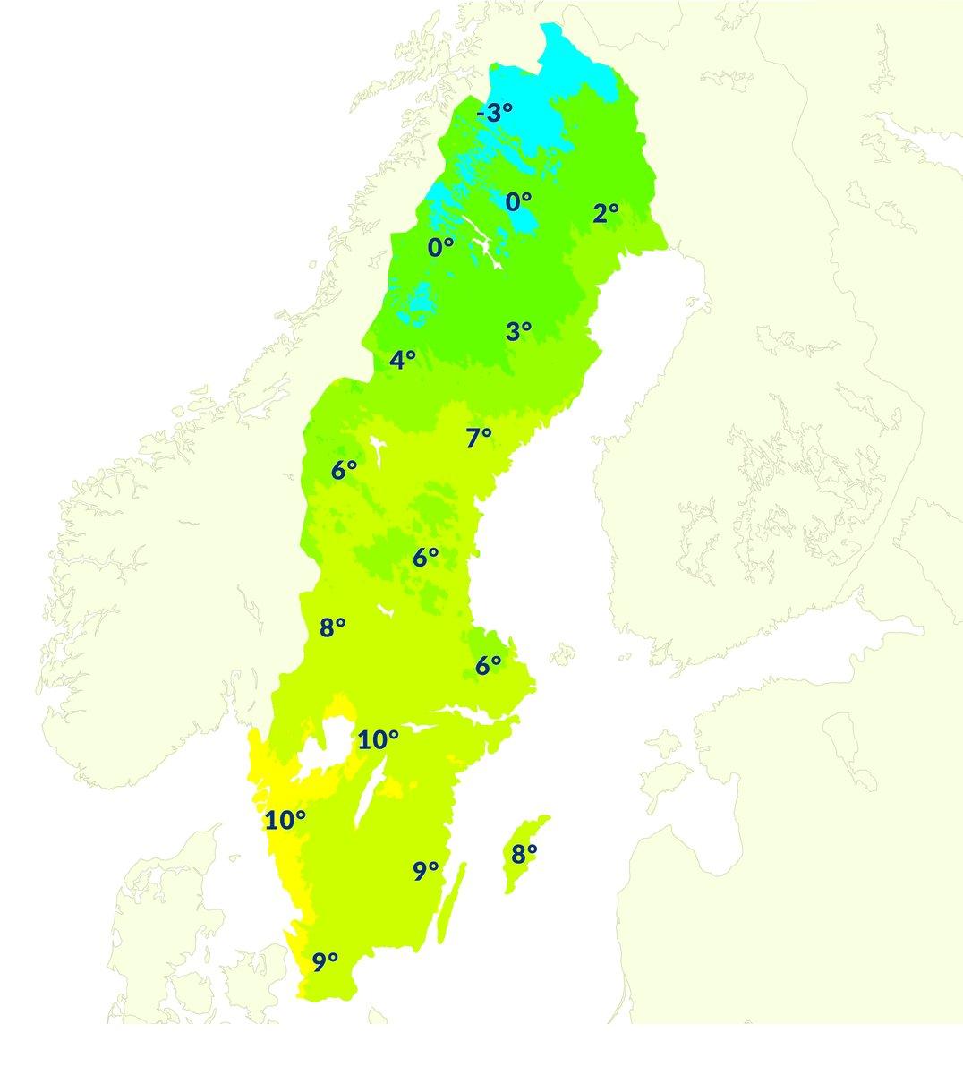 Temperatur 4 dagar